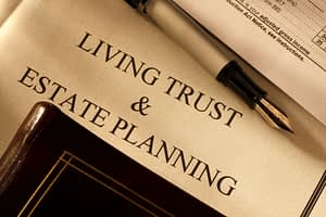 legal document for estate planning and trusts