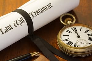 Estate planning and last will and testament