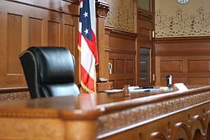 Courtroom for elder and probate law